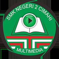 Logo Multimedia SMK Negeri 2 Cimahi