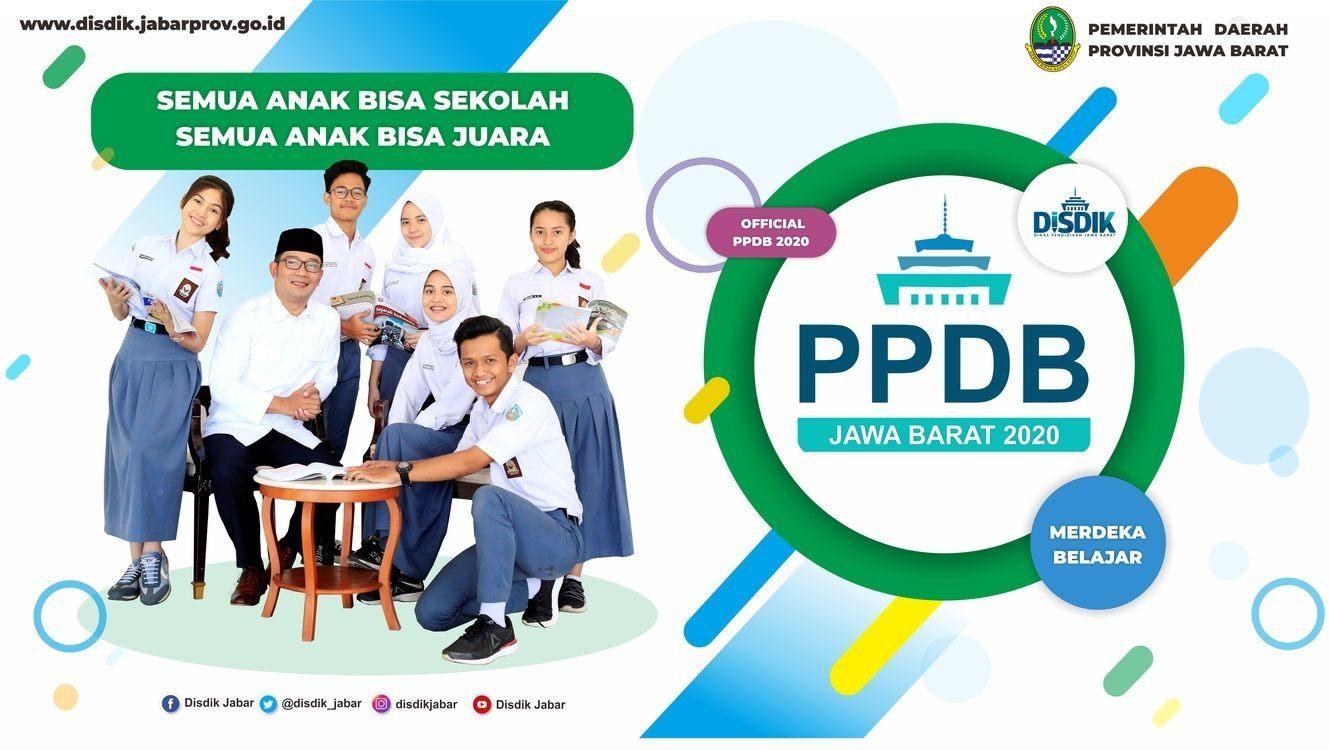 poster PPDB Jabar 2020 - SMK Negeri 2 Cimahi